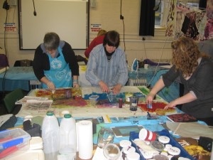 introduction to screen printing workshop