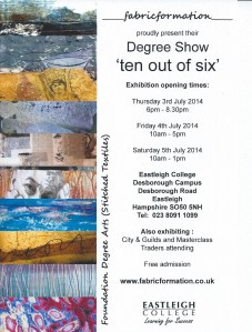 2014 exhiition poster